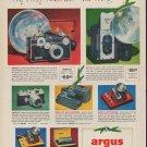 "1952 Argus Ad ""Say ""Merry Christmas"""""