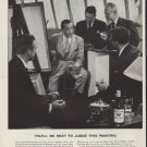 """1952 Imperial Whiskey Ad """"Next To Judge"""""""