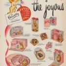 "1952 Houbigant Ad ""the joyous air of Christmas"""
