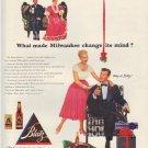 "1952 Blatz Beer Ad ""change its mind"""