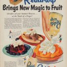 """1950 Reddi-wip Ad """"New Magic"""""""