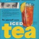 """1950 Tea Council Ad """"Under Pressure"""""""