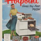 """1950 Hotpoint Ad """"Summer Dinner"""""""