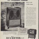 "1950 RCA Victor Ad ""Million Proof"""
