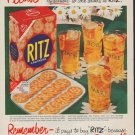 "1952 Ritz Crackers Ad ""Please"""