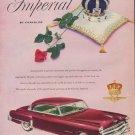"1952 Chrysler Ad ""Imperial by Chrysler"""