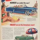 """1952 Ford Ad """"Newest car under the sun!"""""""