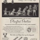 "1952 Playtex Panties Ad ""Baby ... it's a soft life"""