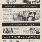"""1952 RCA Victor Ad """"We Were Hot"""""""
