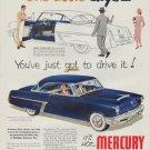 """1952 Mercury Ad """"One Look"""""""