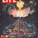 "1954 LIFE MAGAZINE Cover Page ""Rowland Emett"""