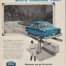 """1954 Ford Parts Ad """"Make the picture perfect"""""""