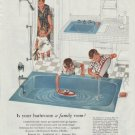 "1961 Kohler of Kohler Ad ""bathroom a family room"""