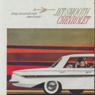 "1961 Chevrolet Ad ""Jet-Smooth"""