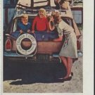"""1961 Quaker State Motor Oil Ad """"Wherever you drive"""""""