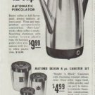 "1961 West Bend Ad ""50th Anniversary Specials"""