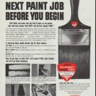 "1961 Du Pont Ad ""your next paint job"""