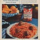 """1961 Chef Boy-Ar-Dee Ad """"A taste of Italy"""""""