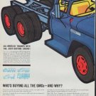 """1961 GMC Trucks Ad """"Who's Buying All The GMCs"""""""