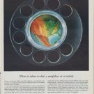 "1961 Western Electric Ad ""dial a neighbor"""
