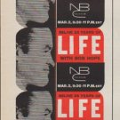 "1961 LIFE and NBC Ad ""with Bob Hope"""