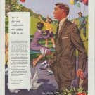 """1958 Hart Schaffner & Marx Ad """"how to feel cool"""""""