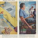 "1958 United States Steel Ad ""Today's steels"""