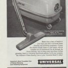 """1958 Universal Cleaning Equipment Ad """"Maid-to-order"""""""