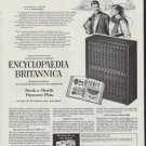"""1958 Encyclopaedia Britannica Ad """"Which is more important"""""""