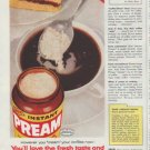 "1958 Pream Ad ""However you ""cream"" your coffee"""
