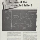"1958 Electric Light and Power Companies Ad ""crumpled letter"""