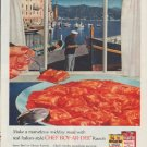 """1958 Chef Boy-Ar-Dee Ad """"marvelous midday meal"""""""
