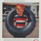 "1958 Enjay Butyl Ad ""fabulous new rubber"""