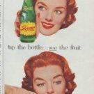 "1958 Squirt Ad ""fresh fruit flavor"""