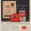 "1963 Campbell's Soup Ad ""42 years ago"""