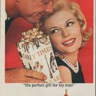 "1963 Early Times Bourbon Ad ""the perfect gift"""