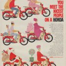 """1963 Honda Ad """"nicest people"""""""