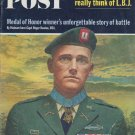 "1965 Saturday Evening Post Cover Page ""Capt. Roger Donlon"""