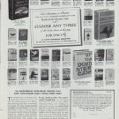 "1965 Book-Of-The-Month Club Ad ""Choose Any Three"""