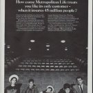 "1965 Metropolitan Life Insurance Ad ""only customer"""
