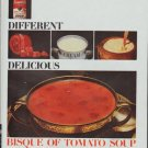 """1965 Campbell's Soup Ad """"New ... Different ... Delicious"""""""