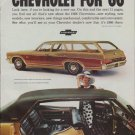 "1966 Chevrolet Ad ""Chevrolet for '66"""