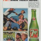 """1965 Seven-Up Ad """"Where There's Action"""""""