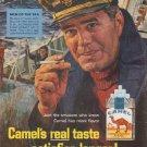 "1965 Camel Cigarettes Ad ""Men of the Sea"""