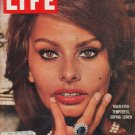 """1960 LIFE Magazine  Cover Page """"Tiger-Eyed Temptress"""""""