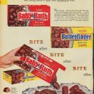 "1960 Curtiss Candy Company Ad ""Nuggets and Chips"""