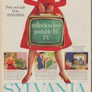 "1960 Sylvania TV Ad ""reflection-free"""