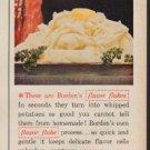 "1960 Borden's flavor flakes Ad ""flavor flakes"""