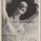 "1960 Formfit Bra Ad ""that Formfit feeling"""