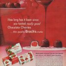"""1960 Brach's Candy Ad """"How long has it been"""""""